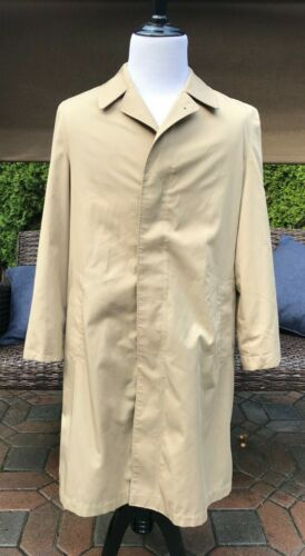 CHRISTIAN DIOR RAIN COAT TRENCH COAT Mens 42L