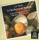 Bach J.s ORCH Suites BWV 1066 - 1069 by Harnoncourt CD
