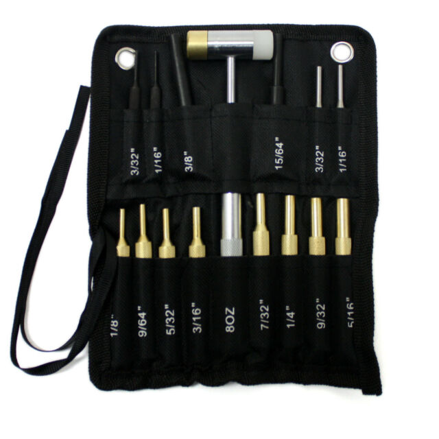 SALE !!!!!!!!!!!!!! New 8 pc Pin Punch Gunsmith Drift Pin Punch Set USA SELLER