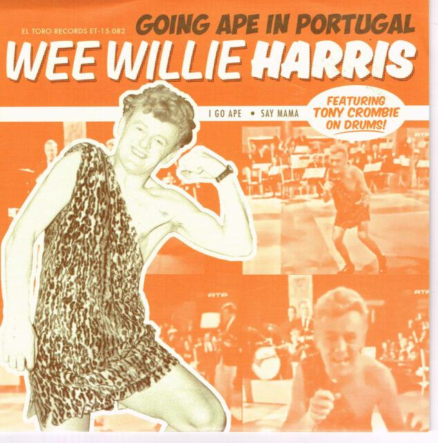 WEE WILLIE HARRIS - I GO APE / SAY MAMA (Rare Live - 1962 Portugal) rockabilly