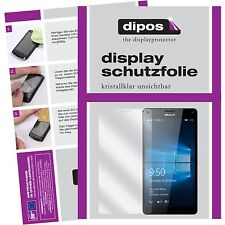 6x Microsoft Lumia 950XL Schutzfolie Display Folie Lumia 950 XL klar dipos