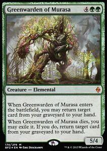 Greenwarden-of-Murasa-FOIL-NM-Battle-for-Zendikar-Magic-MTG