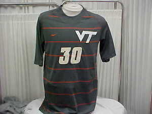 5951be9111f NCAA Virginia Tech Hokies Game Worn Used Player  30 Nike Soccer ...