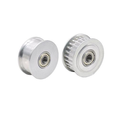 5M24T Timing Belt Pulley Gear Wheel Sprocket  5-15mm Bore For 15//20mm Width Belt