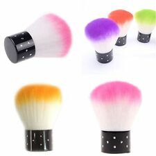Cleaner Manicure UV Gel Nail Art Remover Tools Powder Dust Clean Brushes