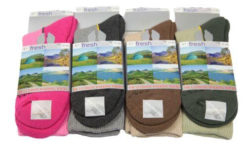 Ladies Walking Socks Womens Cushioned Foot Ultimate Hike Boot Fishing Rambling
