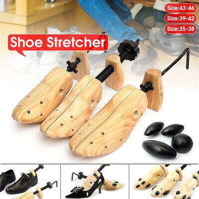 5-12 Unisex Women Men Wooden Adjustable 2-way Shoe Stretcher Shaper Expander US
