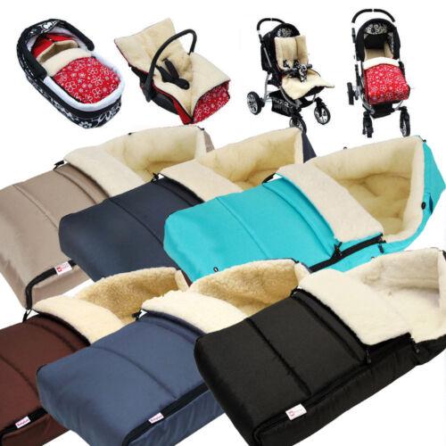 Babylux saco para pies cordero 90cm saco para los pies cochecito-capazo-saco para los pies