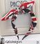 5 Designs Ribbon Bow Bowknot Rabbit Bunny Ears Headband Hairband Wire UK Seller