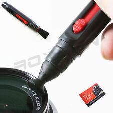 Lens Cleaning Brush Pen + tissue For MC UV CPL STAR FILTER Optical Camera DSLR