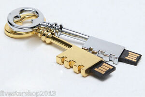 Waterproof Metal key model USB 2.0 Memory Stick Flash pen Drive 4GB-32GB P311