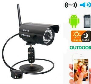HD Home Security IP Camera Wifi Wireless System Internet ...