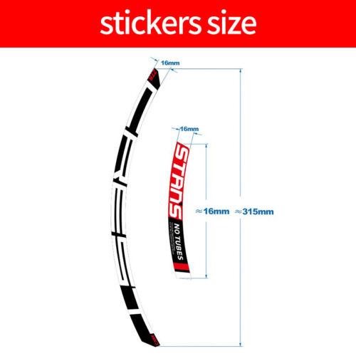 2020 NOTUBES CREST MK3 Mountain Bike Wheel Sticker for MTB Bicycle Rim Decals