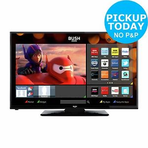 bush 24 inch hd ready 720p freeview hd smart led tv dvd. Black Bedroom Furniture Sets. Home Design Ideas