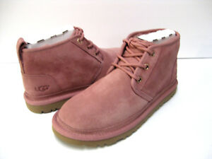 Details about UGG NEUMEL WOMEN ANKLE BOOTS SUEDE PINK US SIZE 5 TO 9