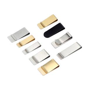 Fermasoldi-Clip-Retro-Metallo-Cancelleria-Pelle-Penna-Matita-Titolare-Notebook