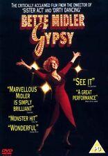 GYPSY DVD - Bette Midler - New & Sealed