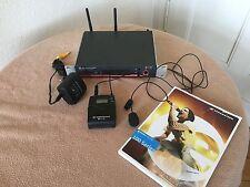 Sennheiser ew 100 G3 C Band, 734-776 MHz, mit Antennen,NT, Lavalier & Bodypack