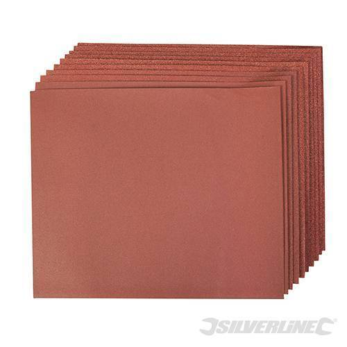 DESTOCKAGE Lots de 10 feuilles corindon 230 x 280 mm  Grains assortis