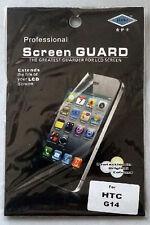 HTC G14 protège écran / screen protector  Film  New