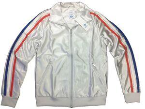 adidas olympia jacke silber