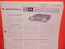 motorola radius m1225 mobile radio service manual with revisis 1999 rh ebay co uk motorola radius p1225 service manual Motorola M1225 Pinout
