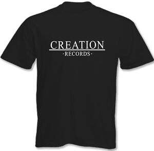 Creation records mens t shirt oasis primal scream the for Vintage record company t shirts