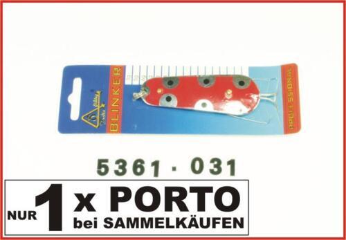 Delta Fishing Top Krautblinker Blinker Silber-Rot 6,5CM 17G 5361-017 Kva