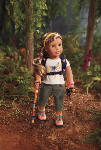 """AMERICAN GIRL 2016 GOTY LEA CLARK'S """"RAINFOREST HIKE OUTFIT /& HIKING ACCESSORIES"""