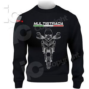 Felpa-Ducati-Multistrada-Desmo-Turismo-Racing-Pista-Travel-Moto-Power