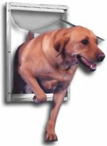 Ideal-Deluxe-Aluminum-Tamper-Proof-Lockable-Dog-Pet-Door-XL
