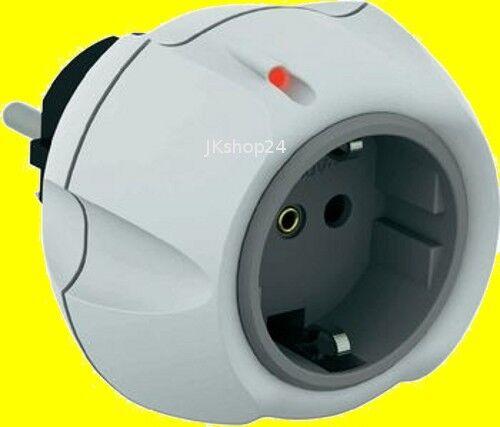 Parasurtenseur-Protection Contact-Connecteur prise 3600 W Blanc-Gris 0460x0500