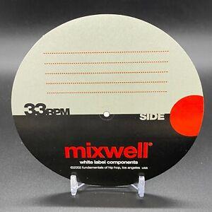 STICKERS-4-Mixwell-Fundamentals-Of-Hip-Hop-Los-Angeles-USA-OG-NEW