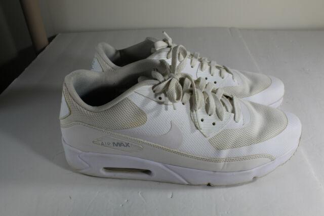 Trastornado Circulo Recurso  Size 11.5 - Nike Air Max 90 Ultra 2.0 Essential Triple White for sale  online | eBay