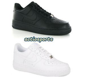 New-Nike-Air-Force-1-GS-Leather-Trainers-Junior-Sizes