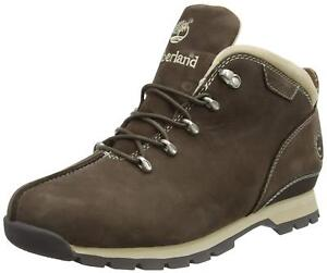 Details zu Timberland Splitrock Hiker Boot Stiefel Braun Brown Leder Gr:47,5 Neu High 85090