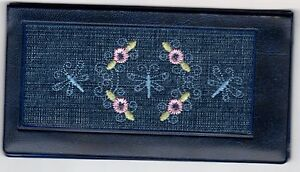 Photo Checkbook Cover w/ Embroidered Insert and Check Register WB1