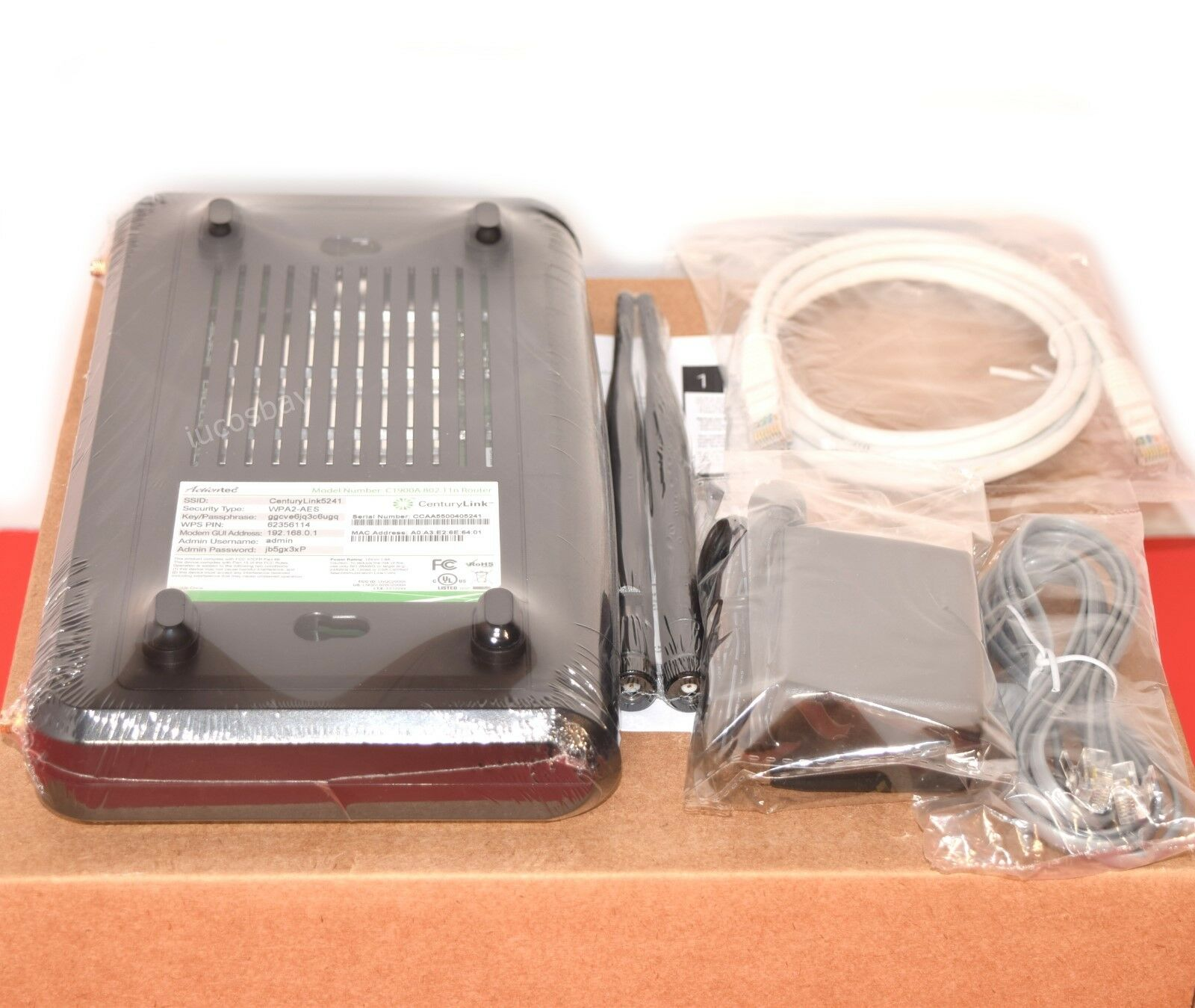 CenturyLink Actiontec C1900A Wireless Vdsl2 IPTV Router