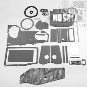 Mopar 70 71 72 73 74 E-Body Heater Box Insulation wth AC NEW