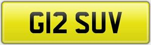 G12-SUV-PERSONALISED-OLD-NEAT-CAR-REG-NUMBER-PLATE-FOR-A-SPORT-UTILITY-VEHICLE