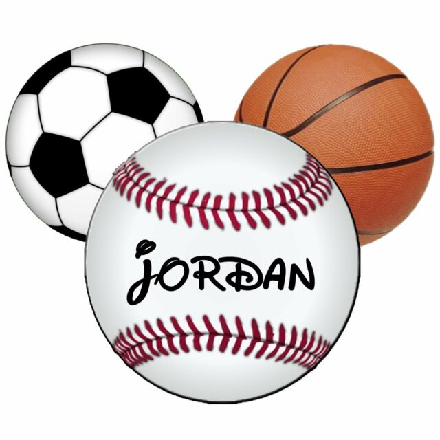 DISNEY MICKEY MOUSE BASKETBALL BASEBALL  PERSONALIZED T-SHIRT IRON ON TRANSFER