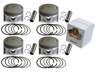 Kolbenringe Piston rings Kawasaki KL 250 A1-A5 Kolben Kit Übermaß os 1 0.50