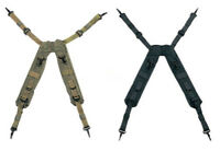 Military Army Tactical H-Type LC-1 Load Bearing Suspenders OLIVE DRAB & BLACK
