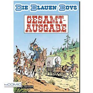 Die-Blauen-Boys-Gesamtausgabe-1-Raoul-Cauvin-Willy-Lambil-FUNNY-WESTERN-COMIC