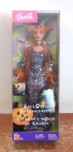 Z120 2003 Halloween Enchantress Barbie NRFB