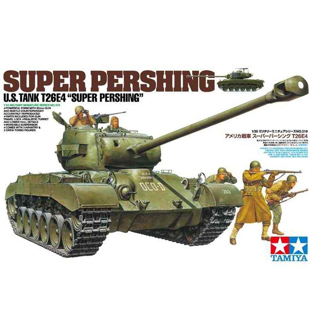 Tamiya 1 35 35319 U.S. Tank T26E4  Super Pershing  Model Kit