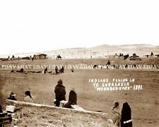 1891 SURRENDER AT WOUNDED KNEE SOUTH DAKOTA SD NATIVE AMERICAN INDIAN PHOTO