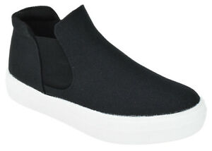 soda women chelsea shoes slip on casual high top platform