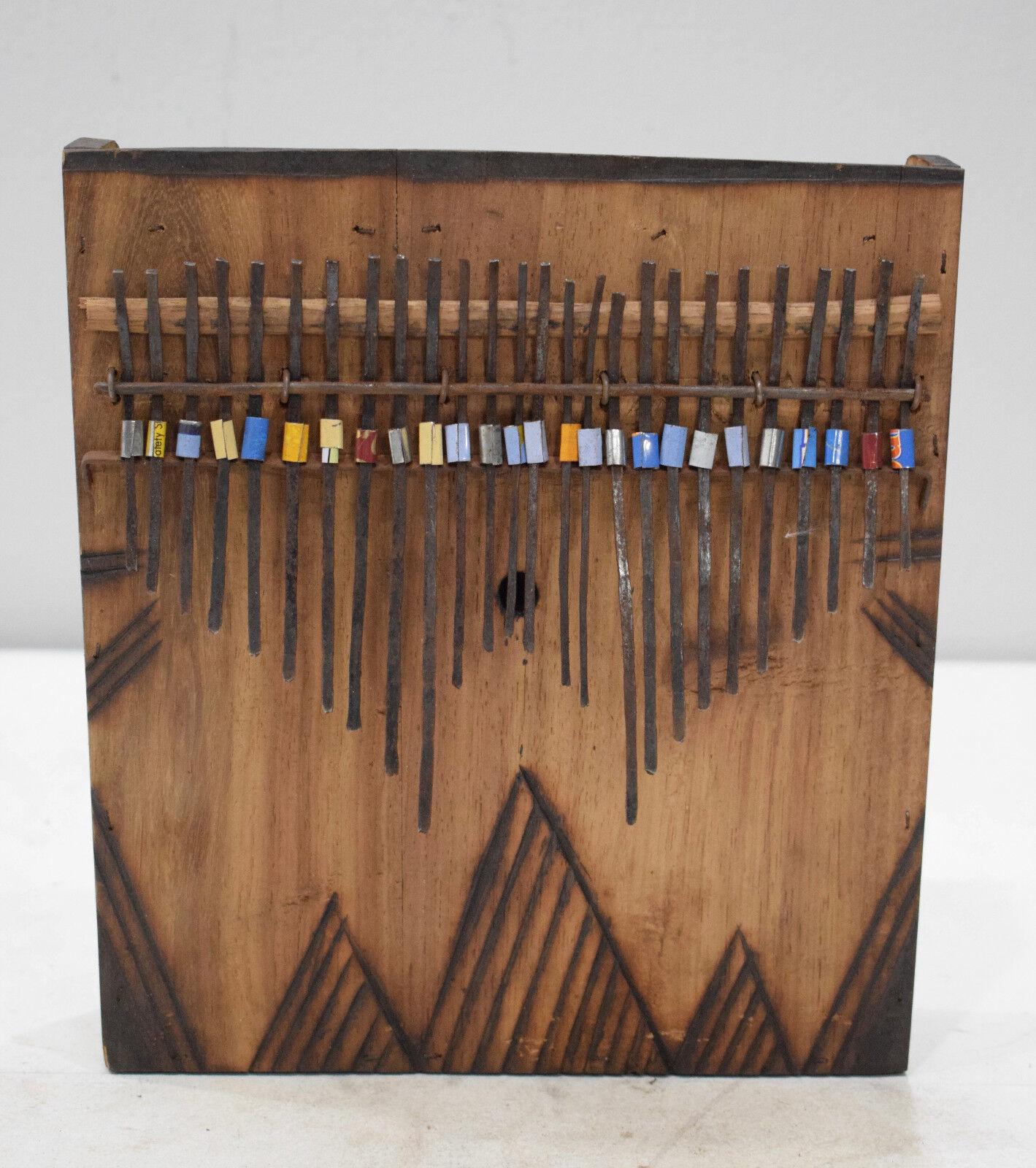 African Thumb Piano Gogo Tanzania Music Thumb Piano 10