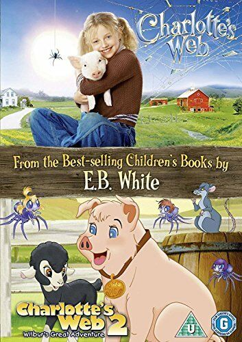 Charlottes Web: 2-Movie Collection [DVD][Region 2]